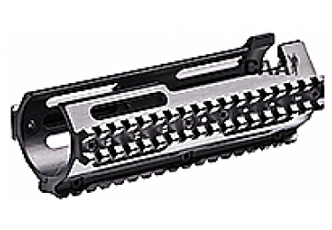 Кронштейн цевье с 3 планками типа Picatinny для MP5SD CAA tactical HX3SD, алюминий, черный