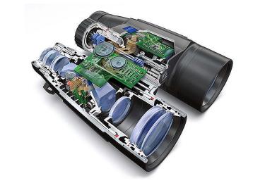Лазерный дальномер бинокль Carl Zeiss 10x45 PRF Victory