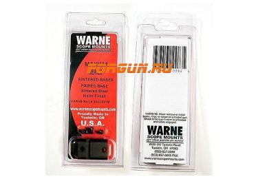 Основания Weaver для Sauer 202 Warne S902/901M, сталь (черный)