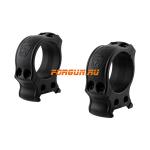 Кольца Spuhr Hunting D34мм H30mm на Picatinny, без интерфейсов, небыстросьемные, HP40-30A