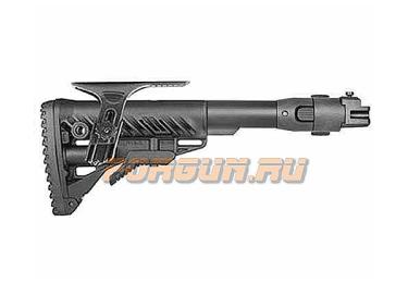 Приклад для АКМ складной (вместо нескладных), телескопический, щека, FAB Defense, FD-M4-AK P CP
