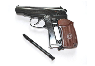 Пневматический пистолет Makarov ПМ черный (Umarex)