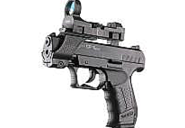 Пневматический пистолет Walther CP99 CPSport Competition черный (Umarex)