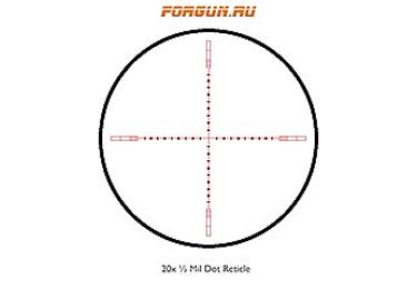 Оптический прицел Hawke +Sidewinder 30 SF 6-24×56, 30 мм, c подсветкой, отстройка параллакса, 20x ½ Mil Dot, 17220