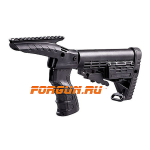Рукоятка пистолетная CAA tactical на Remington 870 с планкой Picatinny, пластик/алюминий, CRGPT870