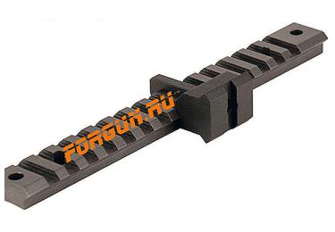 Планка переходная вивер/weaver/Mil1913 выноса планки под углом 90 градусов Warne A600M