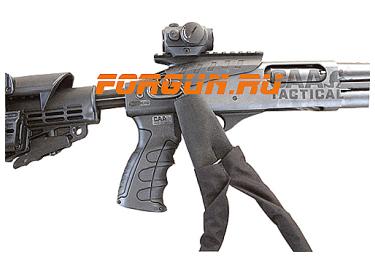 Антабка быстросъемная CAA tactical PBSS, сталь, черный