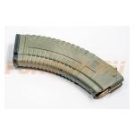 Магазин Pufgun на ВПО-136/АК/АКМ/Сайга (с сухарем), 7,62х39, 30 патронов, Gen2, полимер, оливковый, 189 г