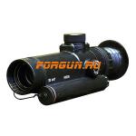 Оптический прицел Беломо ПО 4х17 (G36, FN, MP5, М-16, G3, АК47, АК74)