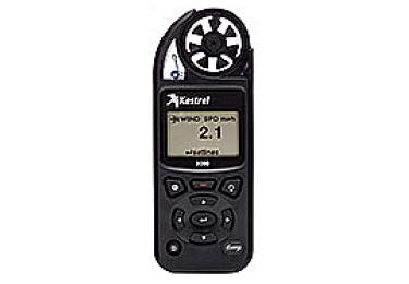 Ветромер Kestrel 5000 (время,скорость ветра,температура воздуха,воды, водонепроницаемый) 0850BLK