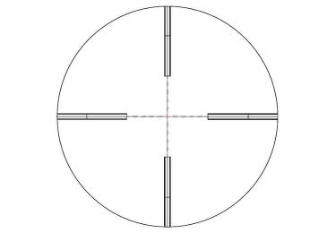 Оптический прицел Nightforce 3.5-15x50 F1 30мм NXS, .250 MOA, с подсветкой (MD2.0)