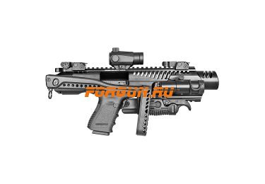 Комплект для модернизации Glock 0.45 приклад складной, Fab Defense KPOS G2 Glock 21