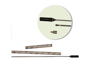 Шомпол 12 кал., 15.6 мм, длина 91.5 см, нержавеющая сталь, ME 500012