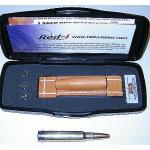 Патрон для холодной лазерной пристрелки калибров 7mm .264 .338 8mm Red-I