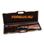 Кейс Negrini для гладкоствольного оружия, 95х22х7 см, пластиковый, кожаная отделка, 1607 LXS