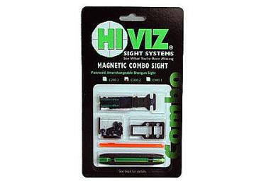 Комплект из мушки и целика HiViz С200-2 (модели TS-2002 и M200) 4,2 мм - 6,7 мм