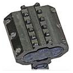 Трехсторонняя база для установки на ствол гладкоствольного оружия Weaver-43 (горизонталки)
