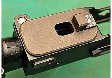 Переходник для установки пистолетных рукояток от АК на Тигр или СВД РЫСЬ