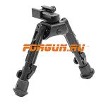 Сошки для оружия Leapers UTG, Weaver/Picatinny или антабка, высота 14,2-17,8 см, TL-BP02