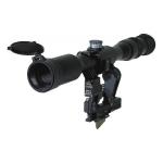 Оптический прицел Беломо ПОСП 8х42 ВДС М6 Pro, с подсветкой сетки MilDot, тактическими барабанчиками, с диоптрийной отстройкой (для Вепрь/Сайга)