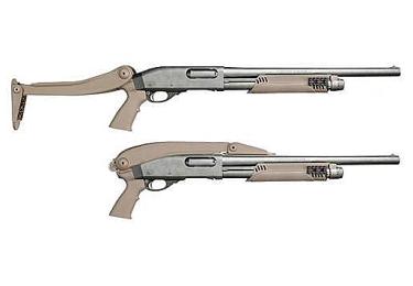Приклад складной тактический для Mossberg, Remington и Winchester A.1.20.1155  (песочный)