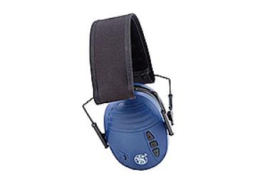 Наушники активные складные 20 дБ S&W Sigma Electronic, синий, 110042
