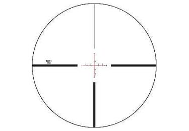 Оптический прицел Vortex Viper PST 6-24x50  (EBR-1 MOA)