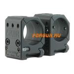 Кольца 30 мм на Spuhr высота 25.4 мм Spuhr, SR-3000, алюминий (черный)