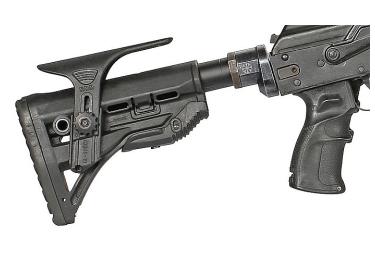 Трубка телескопического приклада для M4, AR16 РЫСЬ, алюминий (черный)