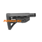 Приклад для АКМ складной (вместо складных), телескопический, FAB Defense, FD-GL-SHOCK-M4-AK
