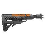 Приклад для ВПО-205 Вепрь 12 складной (вместо складных) телескопический, компенсатор отдачи, FAB Defense, FD-M4-VEPR FK SB