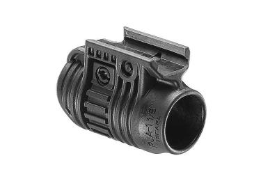Крепление для фонаря или ЛЦУ на Weaver 28,5 мм FAB Defense PLA 1 1/8, пластик