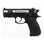 Пневматический пистолет CZ-75 compact металл, никель, подвижный затвор(ASG)