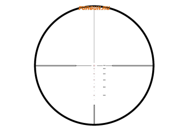 Оптический прицел Hawke Endurance 30 WA 4-16x50 SF IR (.223/.308 24x), с подсветкой, с боковой отстройкой параллакса, 16361