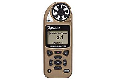 Ветромер Kestrel Elite LiNK Tan (Applied Ballistic, время, скорость ветра, температура воздуха, воды, WP, более 14 различных параметров) 0857ALTAN