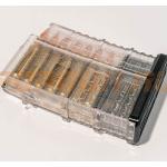 Магазин Pufgun на Сайга-308, 7,62х51, 15 патронов, полимер, прозрачный, возможность укорочения, 141 г