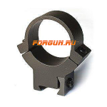 Кольца 25,4 мм на планку 12 мм высота 13 мм Warne 7.3/22 High, 722M, сталь (черный)