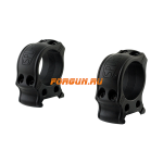 Кольца Spuhr Hunting D30мм H25.4mm на Picatinny, без интерфейсов, небыстросьемные, HP30-25A
