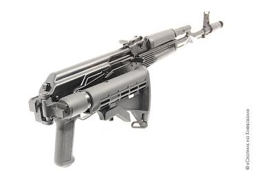 Приклад для АК, Сайга складной (вместо нескладных) телескопический, Leapers UTG, RBU-4