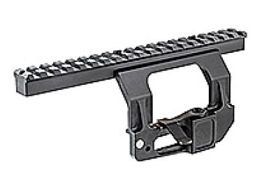 Кронштейн боковой быстросъемный с планкой weaver для СВД, Тигр, СВДС CAA tactical XD-RGL