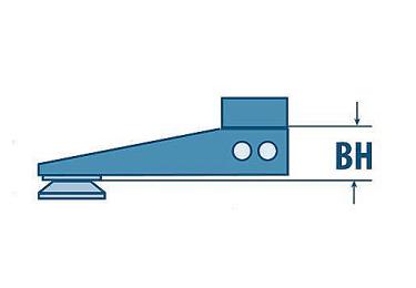 Нога (передняя+задняя) EAW Apel на шину Zeiss, под основания Apel, вынос 32мм, 1405/1120/32+1410/0100