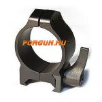 Кольца 30 мм на Weaver высота 6 мм Warne Maxima Quick Detach Low, 213LM, сталь (черный)