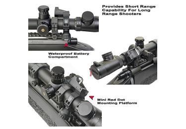 Кронштейн для Noblex (Docter) и Burris FF на оптику 30 мм GG&G (USA)