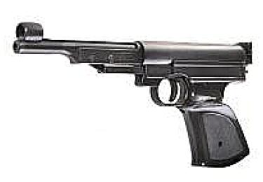 Пневматический пистолет Record LP3 черный (Umarex)