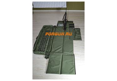 "Чехол-мат тактический 125 х 35 х 12 см (оливковый) ""Русский Снайпер"""