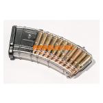 Магазин 7,62x39 мм (.30, .366 ТКМ) на 20 патронов для АК, АКМ, Вепря или Сайги, пластик, Pufgun, Mag SGA762 40-20/Tr, возможность укорочения