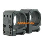 Кольца 34 мм на Spuhr высота 25.4 мм Spuhr, SR-4000, алюминий (черный)