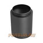 Солнцезащитная бленда 7 см, для 40 мм объектива, алюминий, Leapers UTG, SHD-H2440