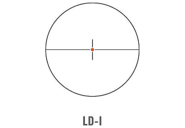 Оптический прицел Swarovski Z6i 1-6x24 SR с подсветкой (LD-i)