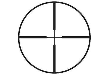 Оптический прицел Leupold VX-1 3-9x40 (25.4mm) Shotgun/Muzzleloader серебристый (Duplex) 113878